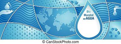 mundo, 1500, dia, gotas, composição, mundial, -world, mapa, ...