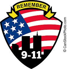 mundo, 9-11, centro, comercio