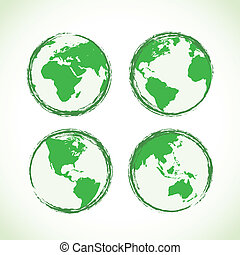 mundo, abstratos
