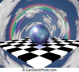 mundo, ajedrez