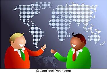 mundo, comunicações