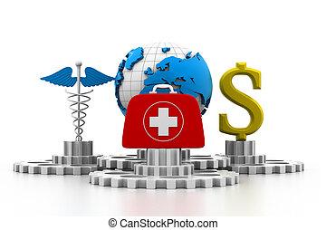 mundo, conceito médico