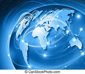 mundo, conectar