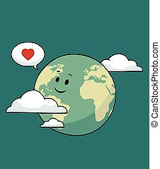 mundo, feliz
