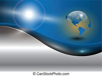 mundo, glob, empresa / negocio, plano de fondo