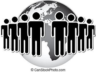 mundo, grupo