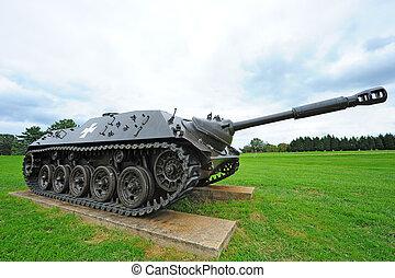 mundo, guerra, tanque, contratorpedeiro, ii, alemão