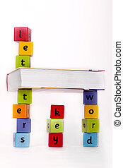 mundo, letras, conhecimento, tecla