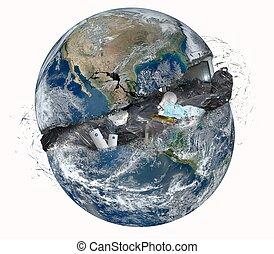 mundo, lixo