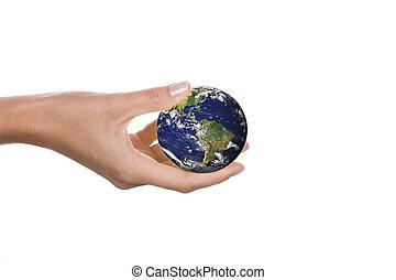 mundo mãos