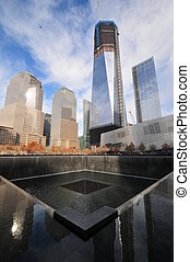 mundo, monumento conmemorativo, centro, comercio