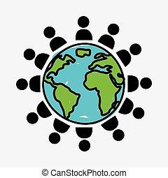 mundo, pessoas