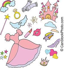 mundo, princesa