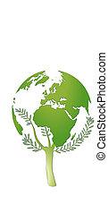 mundo, proteção, natureza