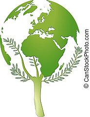 mundo, protección, naturaleza