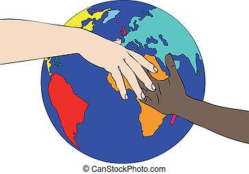mundo, racismo, contra