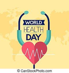 mundo, saúde, dia