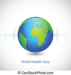 mundo, salud, día