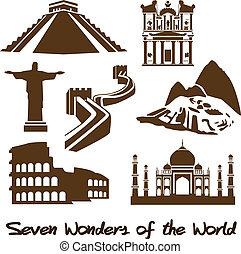 mundo, siete, maravillas