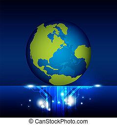mundo, tecnologia