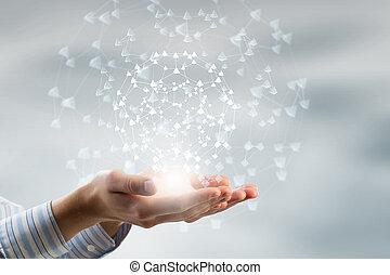 mundo, tecnologias, conectando