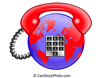 mundo, telefone