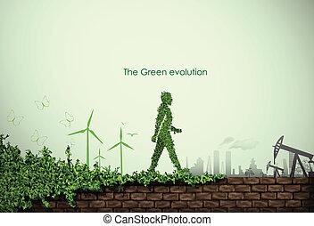 mundo, verde