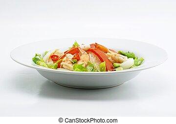 mung bean noodle spicy salad 2
