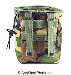 munição, saco, para, (cartridge), bala, de, espingarda