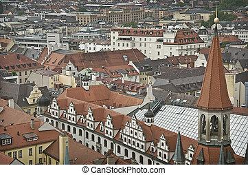 Munich Vernacular - A view over the lands of Munic