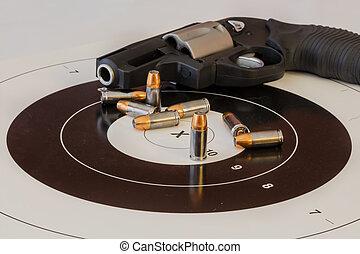 munición, arma de fuego, blanco