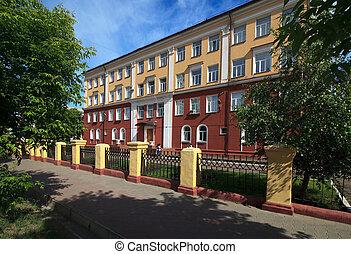 Municipal Gymnasium. Omsk.