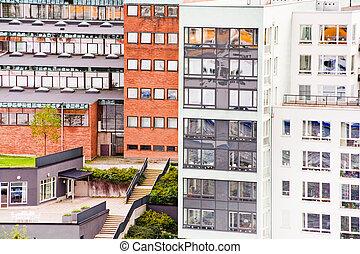 municipal houses in Stockholm