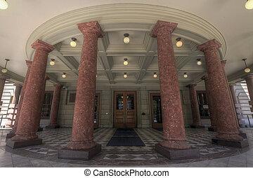 municipio, entrata