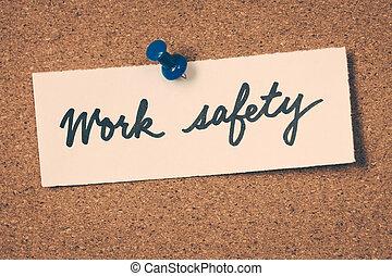 munka, biztonság