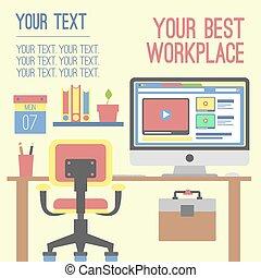 munka felad, munka, szín