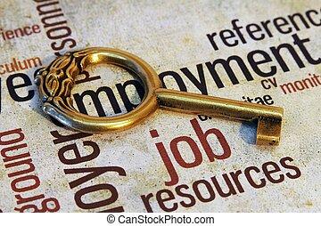 munka, fogalom, kulcs
