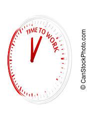 munka, idő