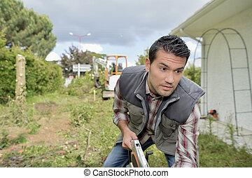 munka, kertész