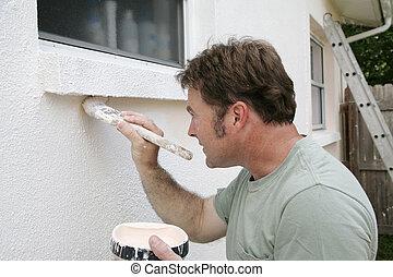 munka, szobafestő