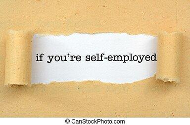 munkavállaló, maga