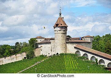 Munot fortress. Schaffhausen, Switzerland