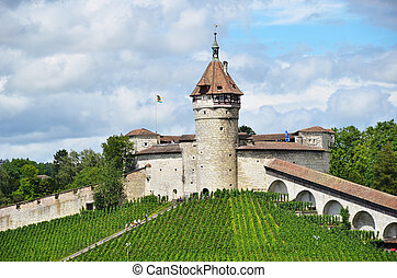 Munot fortress. Schaffhausen, Switzerland