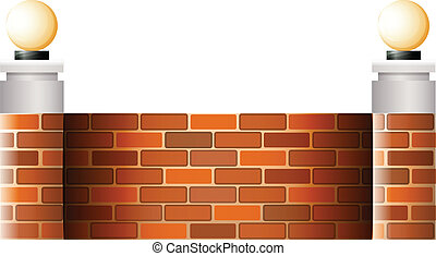 mur, abat-jour