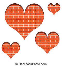 mur, amour