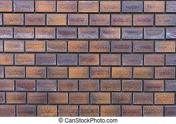 mur, arrière-plan., brique, texture