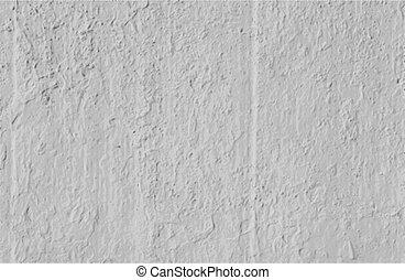 mur, béton, vecteur, fond, grungy, blanc
