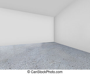 Lumières, mur, tache, trois, rendre, brique blanche, 3d.... clip art ...