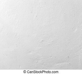 mur, blanc, plâtré