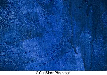 mur bleu, texture